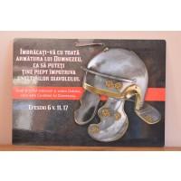 poster- Îmbracati-va cu toata armatura lui Dumnezeu