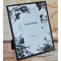Rama foto - piele model floral (13x18 cm)
