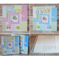 Rama foto copii - Album Baby roz (31.5x32.5x5 cm)