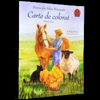 Ferma din Valea Minunată - Carte de colorat pentru copii