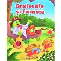 Greierele si furnica - Povestiri pentru copii (5-7 ani)