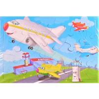 Puzzle, Avioane, 24 piese - Activitati pentru copii (3+)