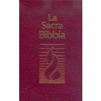 Biblia în limba italiană - La Sacra Bibbia, Bible N.R, Reliée grenat, nuova riveduta