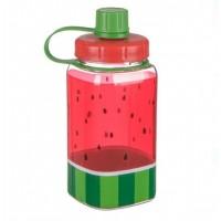 Bidonas apa, rosu-verde - Pepene verde - 350 ml
