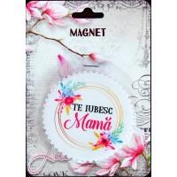 Magnet Te iubesc mama (7.3x7.3 cm )