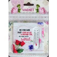 Magnet   De fiecare data cand ma uit in ochii tai ( 7.5x7.5 cm )