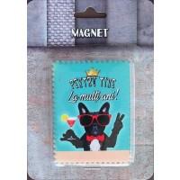 Magnet  Pentru tine (6x8cm )