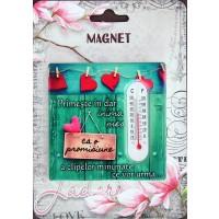 Magnet Primeste in dar inima mea  ( 7.5x7.5 cm)