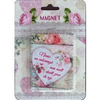 Magnet Nimic nu valoreaza ( 7.5x7.5 cm)