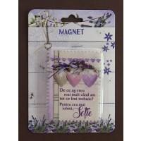 Magnet  De ce as vrea mai mult - sotie (6x8cm)