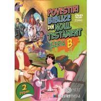 DVD - Povestiri Biblice din Noul Testament (seria B) - Desene animate dublate in limba romana