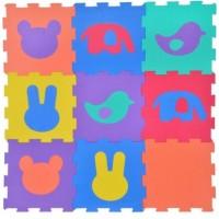 Puzzle de podea - Animale, 9 buc. - Activitati pentru copii (3+)