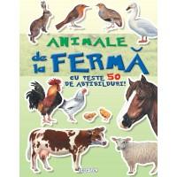 Mai cauta si lipeste - Animale de la ferma cu peste 50 de abtibilduri