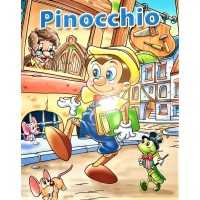 Pinocchio - Povestiri pentru copii (3-7 ani)