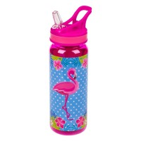 Bidonas apa, roz - Flamingo - 500 ml