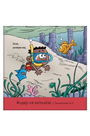 Tablou pentru copii - Rugati-va neincetat