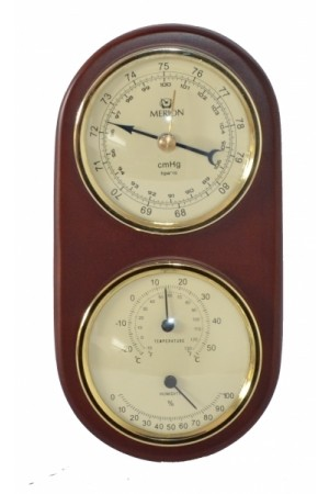 Ceas de  perete  lemn oval  (20x10cm)