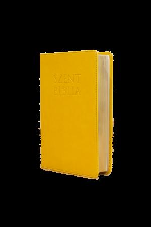 Szent Biblia - Közepes Biblia, Napsárga, Károli Gáspár Forditása (Biblia medie in lb. maghiara)
