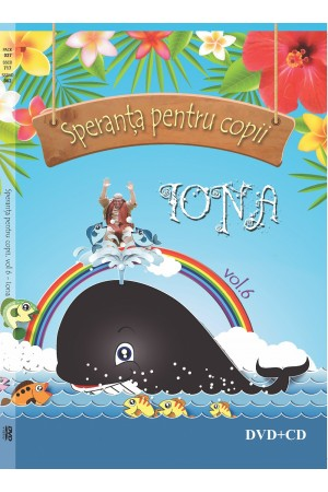 Speranta pentru copii- IONA, vol.6 , DVD, CD