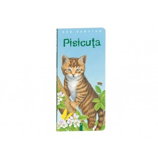 Carte catonata pentru copii - Pisicuta (+24luni)