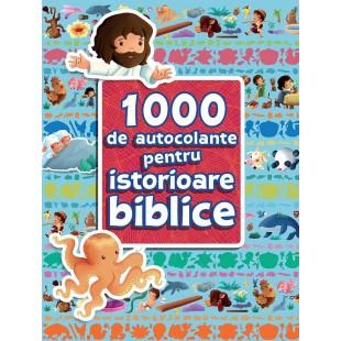 1000 de autocolante pentru povestioare biblice de Sherry Brown & Sandrine L'amour
