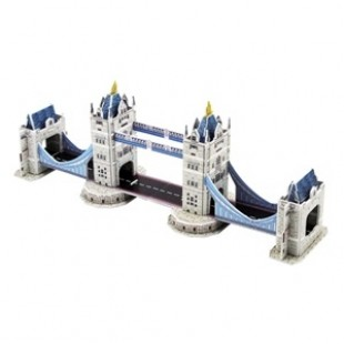 Puzzle 3D constructii - London - 36 piese - Activitati pentru copii (3+)