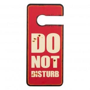 """Semn pentru camera cu mesajul """" Do not disturb"""""""