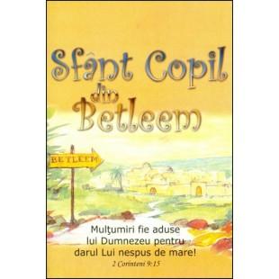 Sfant Copil din Betleem - Activitati biblice pentru copii