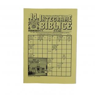 Integrame biblice - nr. 14