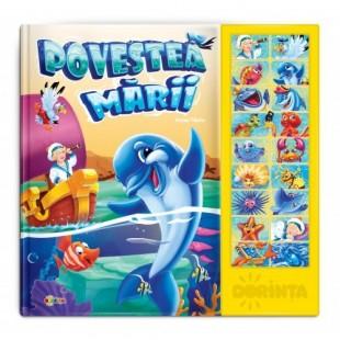 Carte cu sunete. Povestea Mării - Povestiri pentru copii
