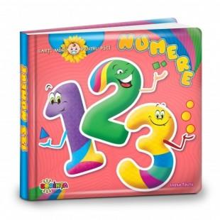 Cărți mici pentru pici. 123 (Numere) - Carte educativă pentru copii
