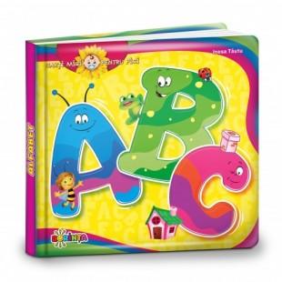Cărți mici pentru pici. ABC (Alfabet) - Carte educativă pentru copii