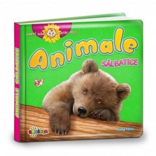 Cărți mici pentru pici. Animale sălbatice - Carte educativă