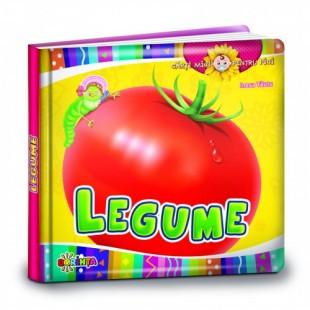 Cărți mici pentru pici. Legume - Carte educativă pentru copii