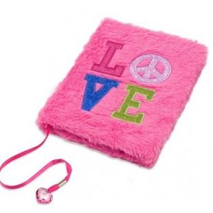 Carnet A5, roz - LOVE