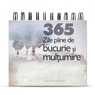 """Calendarul """"365 de zile pline de bucurie și mulțumire"""""""