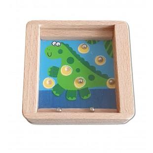 Joc din lemn - Dinozaur - Jucarii pentru copii (3+)