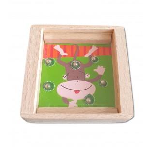 Joc din lemn - Maimuta - Jucarii pentru copii (3+)