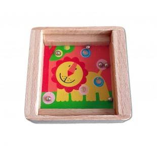 Joc din lemn - Leu - Jucarii pentru copii (3+)