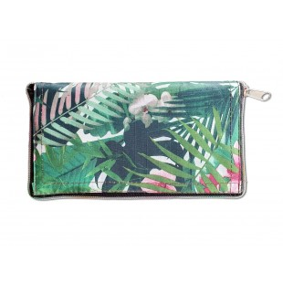 Portofel/Geanta cadou (femei) - Verde ( 19x10 cm / 42x50 cm )