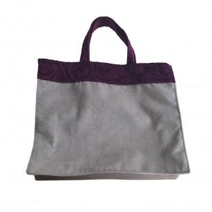 Sacosa cumparaturi - Violet-gri