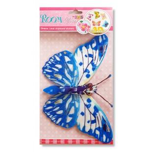 Fluture 3D decorativ pentru pereti