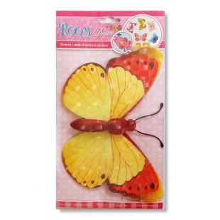 Fluture 3D decorativ pentru pereti (2)