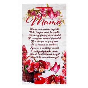 Tablou motivational ( 26x48 cm ) - Mama
