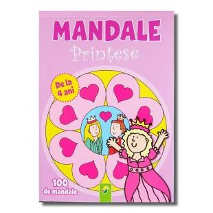 Carte de colorat - Mandale printese