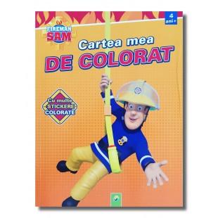 Carte cu activitati - Fireman Sam - Cartea mea de colorat