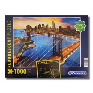 Puzzle flourescent - New York - 1000 piese