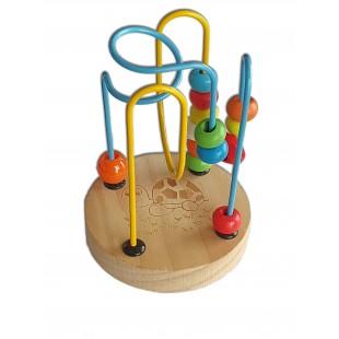 Joc din lemn cu bile