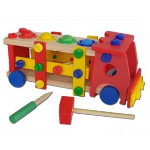 Jucarie din lemn - Camion