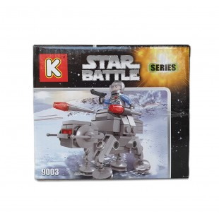Joc de constructii cu cuburi - Robot (110 piese)
